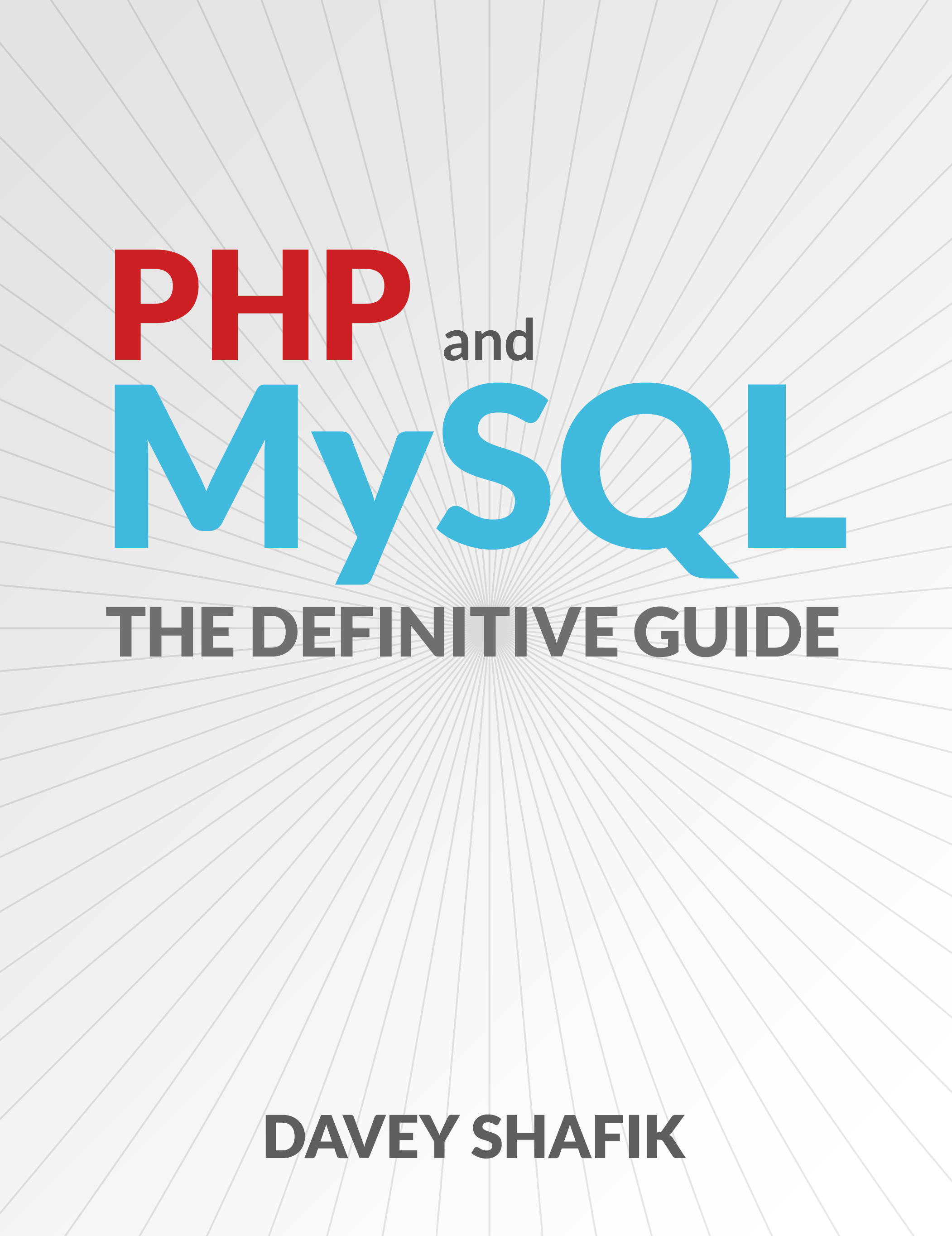 Book Cover: PHP and MySQL: The Definitive Guide