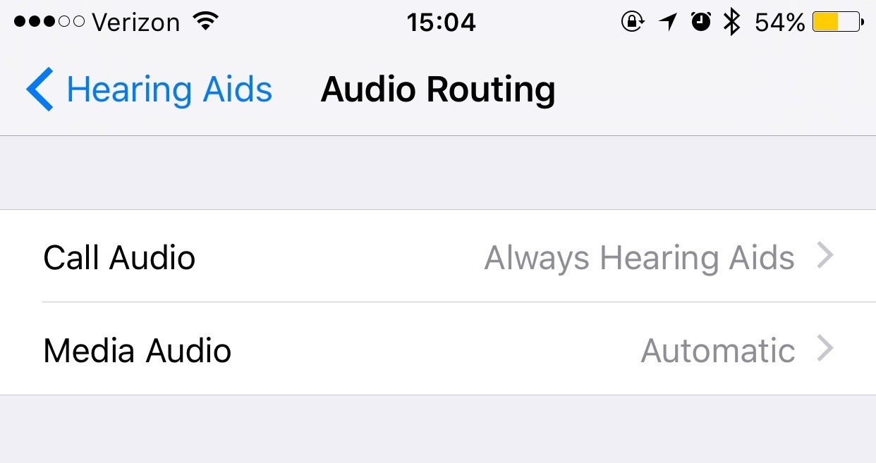 Audio Routing Settings Pane